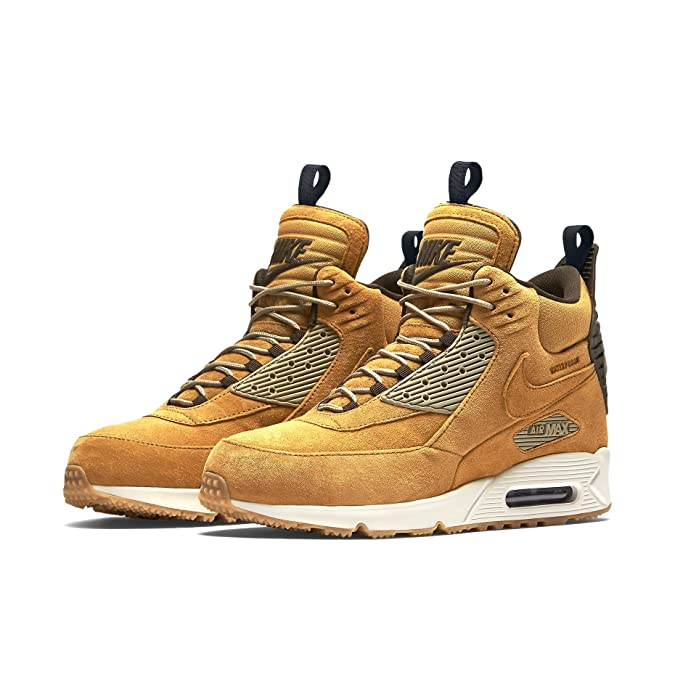 online store ecca1 55ca4 Nike Herren Air Max 90 Sneakerboot Wntr Laufschuhe, Bambus 44.5 EU   Amazon.de  Schuhe   Handtaschen