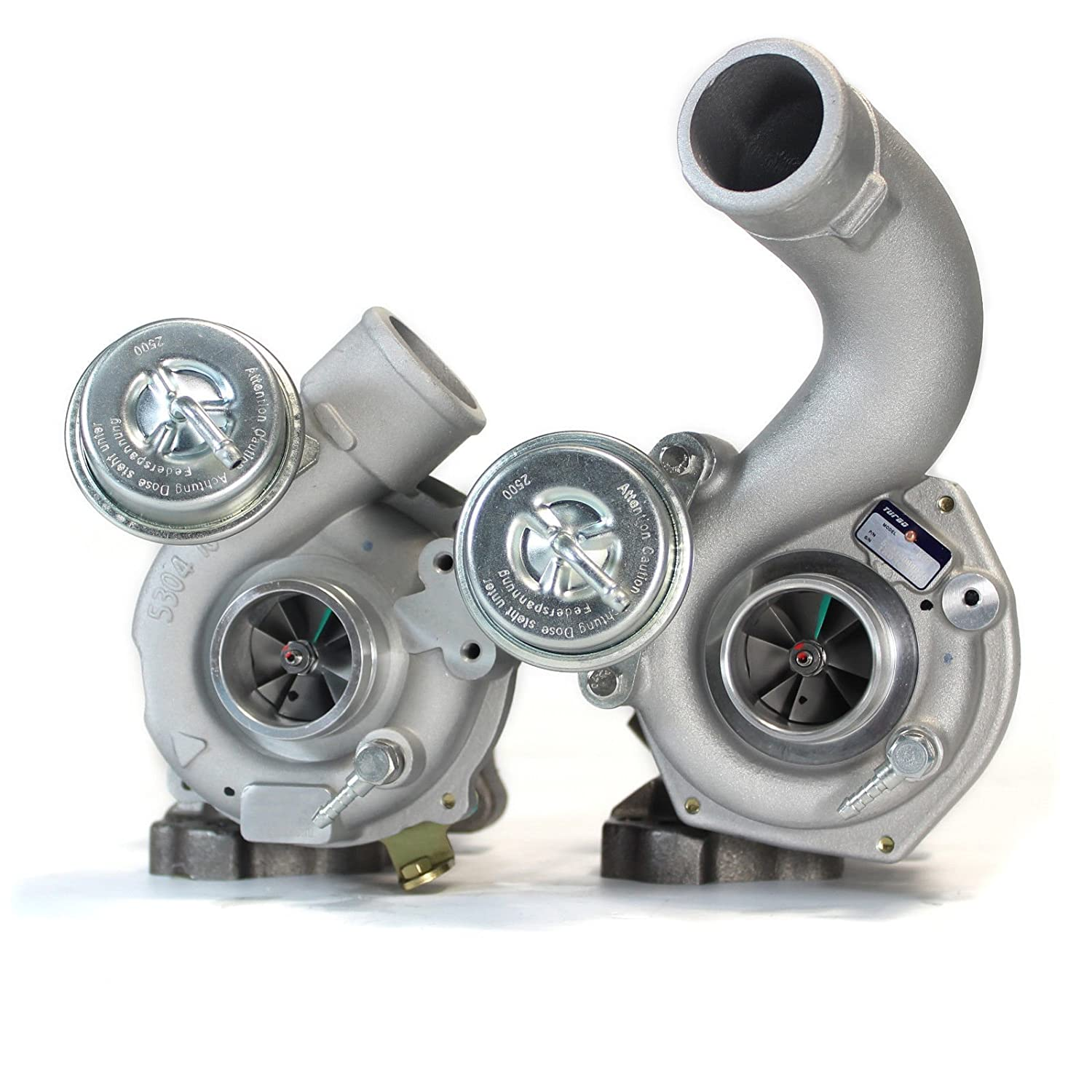 XS-Power Brand New K04 025 026 Pair Twin Turbo for Audi RS4 S4 A6 Allroda Quattro 2.7L