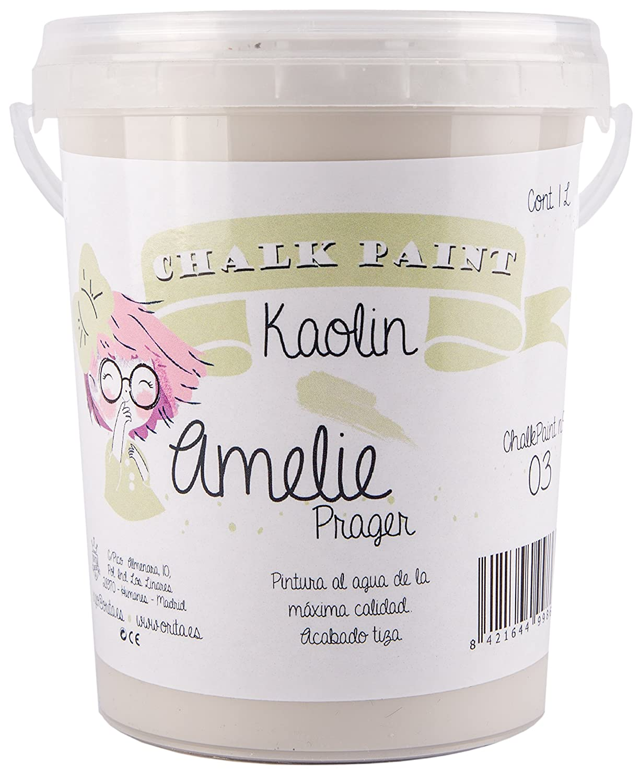 Amelie Prager 1000 –  03 Paint to the chalk, Kaolin, 1 L 1L Orita 1000-03