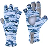 Palmyth UV Protection Fishing Fingerless Gloves UPF50+ Sun Gloves Men Women for Kayaking, Hiking, Paddling, Driving, Canoeing