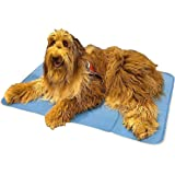 The Green Pet Shop Dog Cooling Mat - Pressure-Activated Gel Cooling Mat For Dogs - This Pet Cooling Mat Keeps Dogs and Cats C