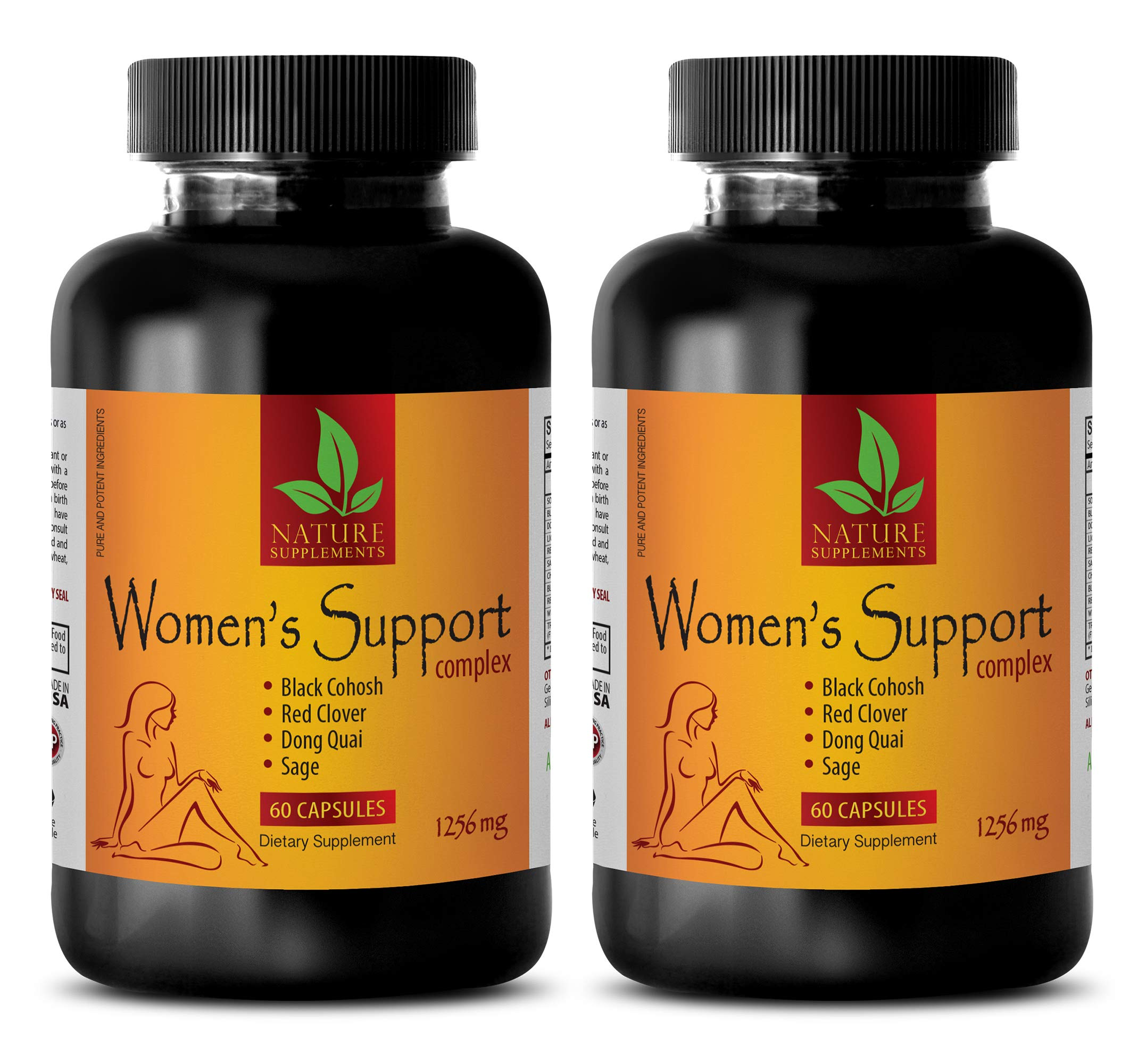 Sleep for Women - Women's Support Complex 1256 mg - Wellness core - 2 Bottles (120 Capsules)