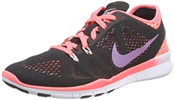 4b5588443d80 Image Unavailable. Image not available for. Color  Nike Women s Free 5.0 Tr  Fit 5 Brthe Black Hot ...