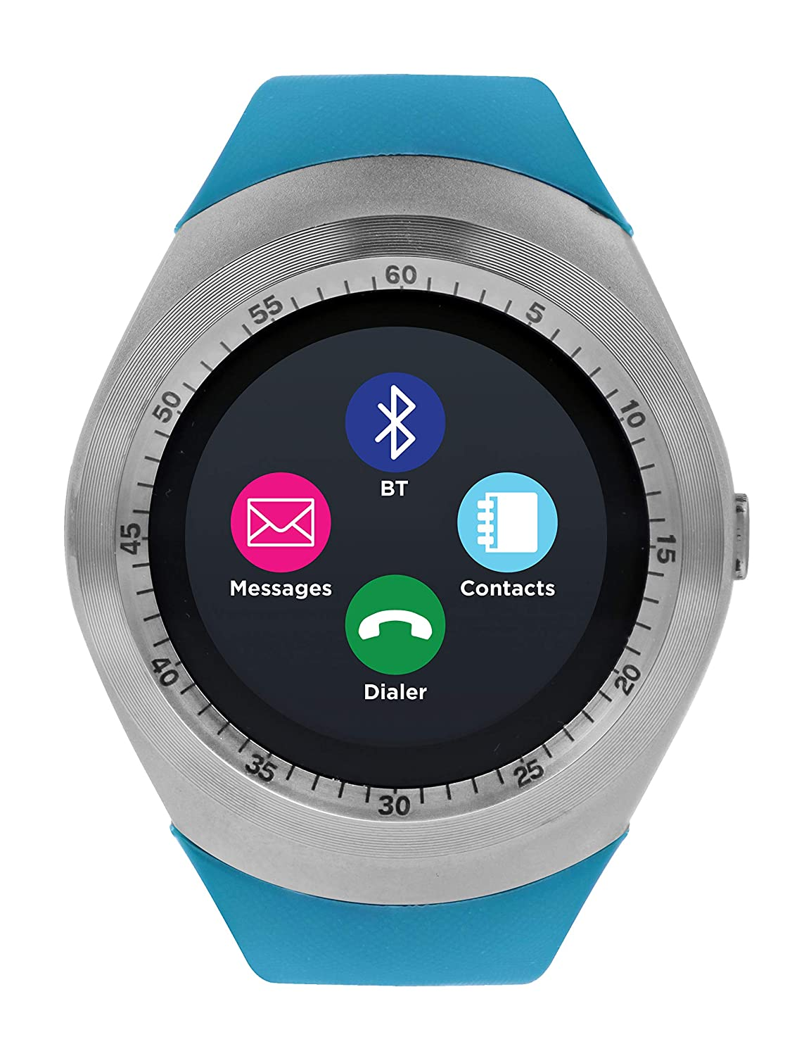 Amazon.com: iTOUCH Curve Smartwatch Unisex Fitness Pedometer ...