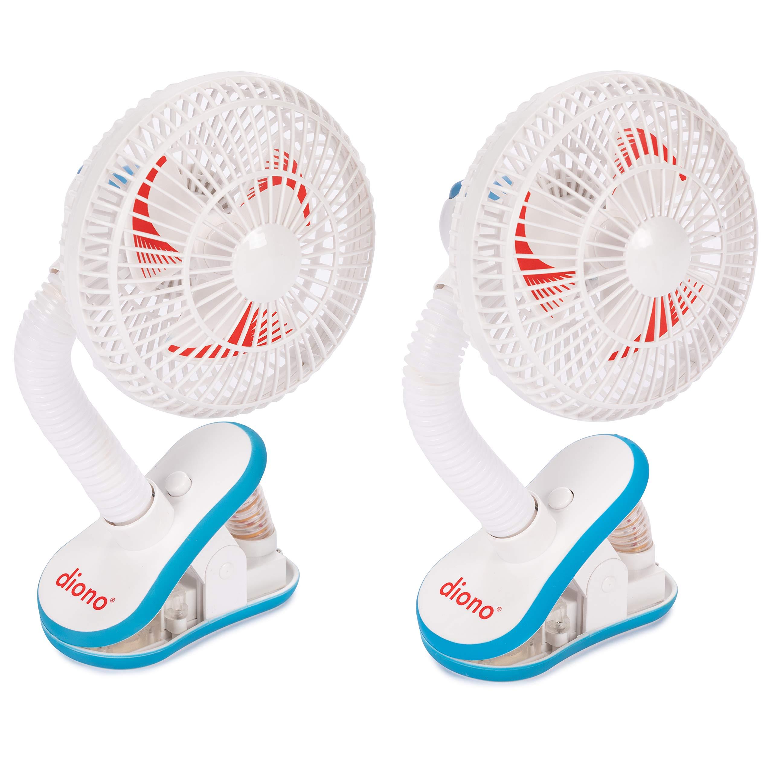 Diono Two2Go Stroller Fan, White