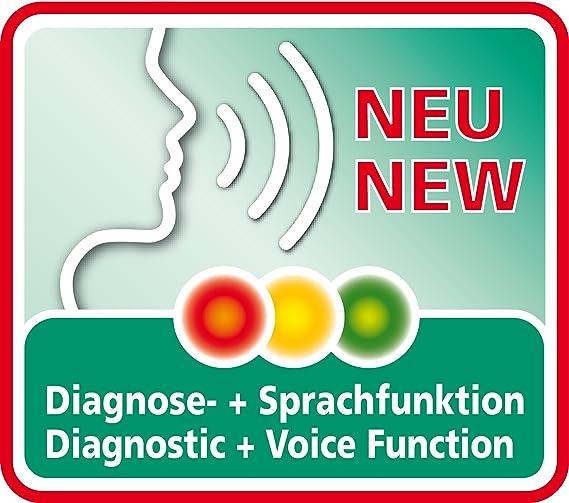 Medisana HGV 51220, Tensiómetro de Muñeca con función de voz: Amazon.es: Salud y cuidado personal