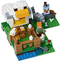 198-Piece LEGO Minecraft the Chicken Coop 21140 Building Kit