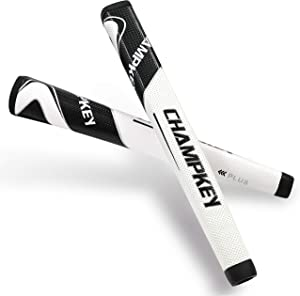Champkey Polymer Golf Putter Grip - Reducing Hands Pressure & Improving Traction,Providing Excellent Push