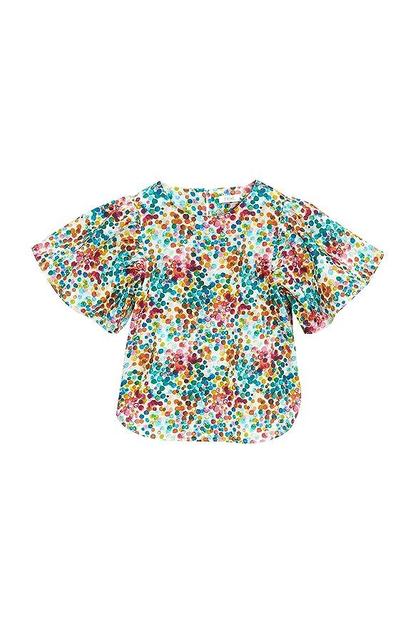 next Niñas Blusa Vaporosa con Lunares (3 Meses - 6 Años) Multicolor 5-6 años: Amazon.es: Ropa y accesorios