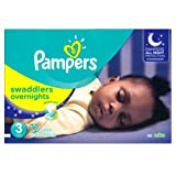 Amazon Price History for:Pampers Swaddlers Overnights Diapers Size 3, 72 Count