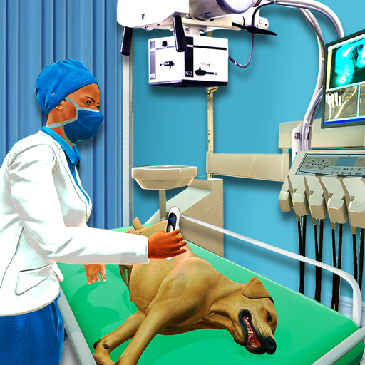 Animal Hospital Pet Vet Clinic - Do Pet Animal Rescue, Pet Care at Animal Shelter. Become Animal Doctor at Animal Clinic - Best Pet Games, Animal Games for Kids Free (Best Games For Girls)