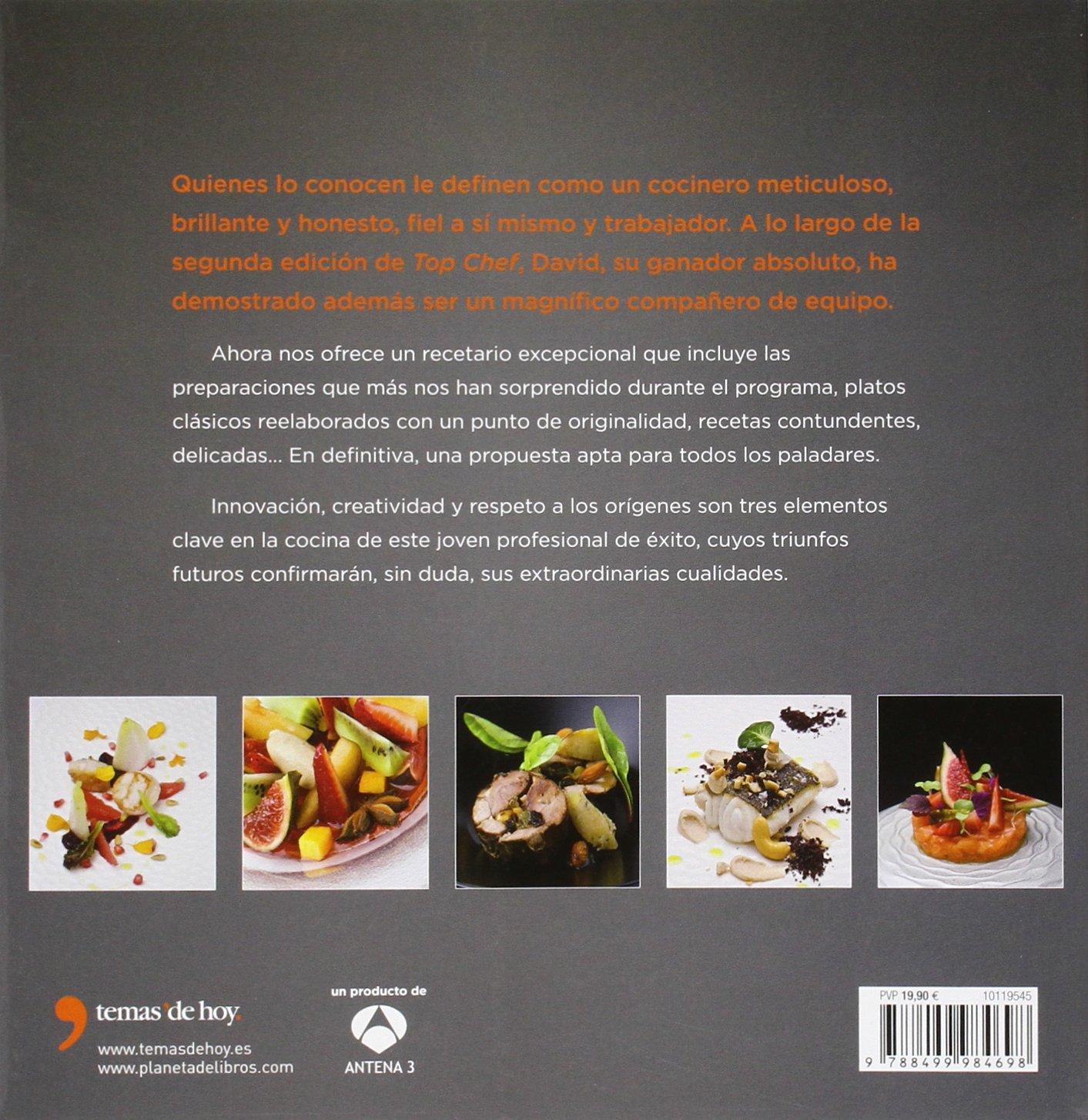 Top Chef. Las recetas de David García: Ganador de la segunda ...