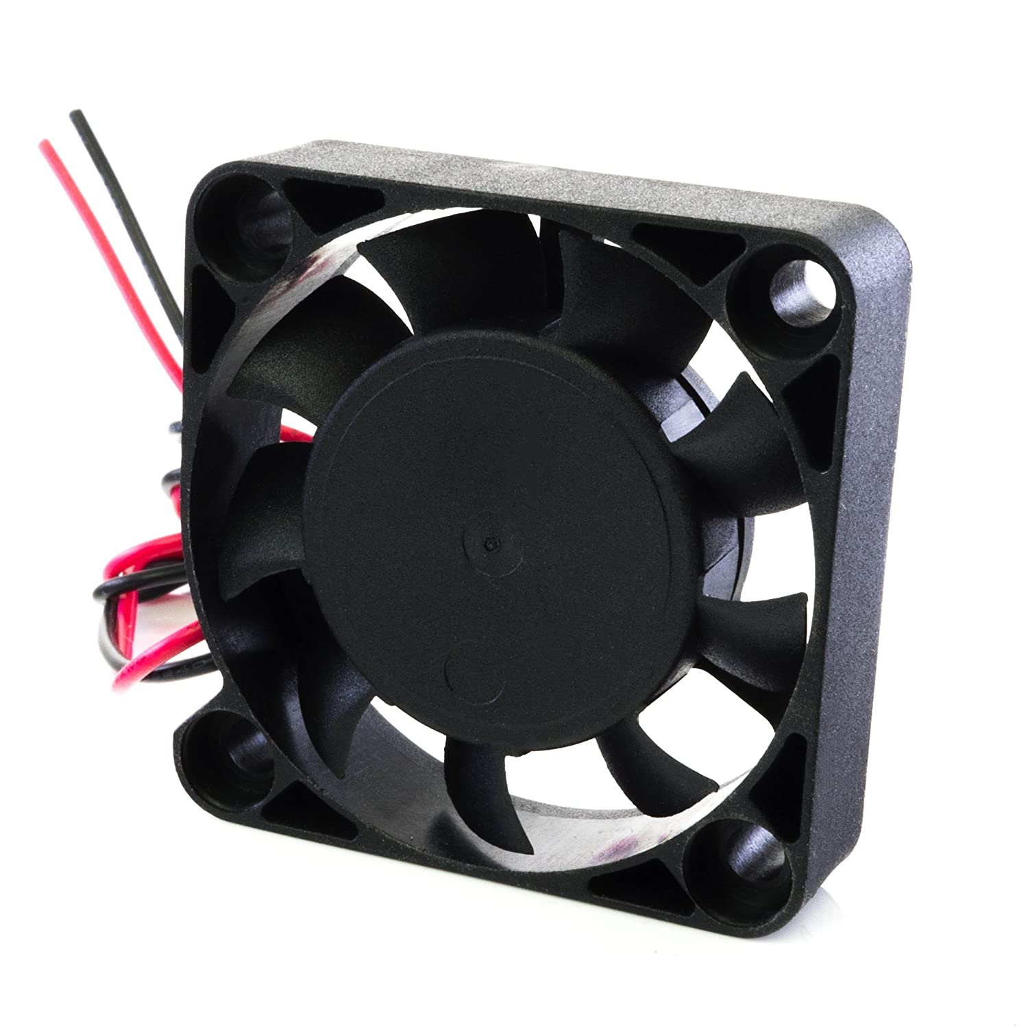 Maker Girl USA DC Case Fan Brushless 40mm x 40mm x 10mm 12V Quiet Output 4010 DC4010S12L