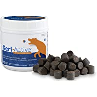Geri-Active: Health Canada Approved Dog Joint Supplement for Medium & Large Dogs - 4 Month Supply w/Glucosamine for Dogs, UC-II and MSM - Tasty Soft Chew for Complete Dog Joint Care (120 Soft Chews)
