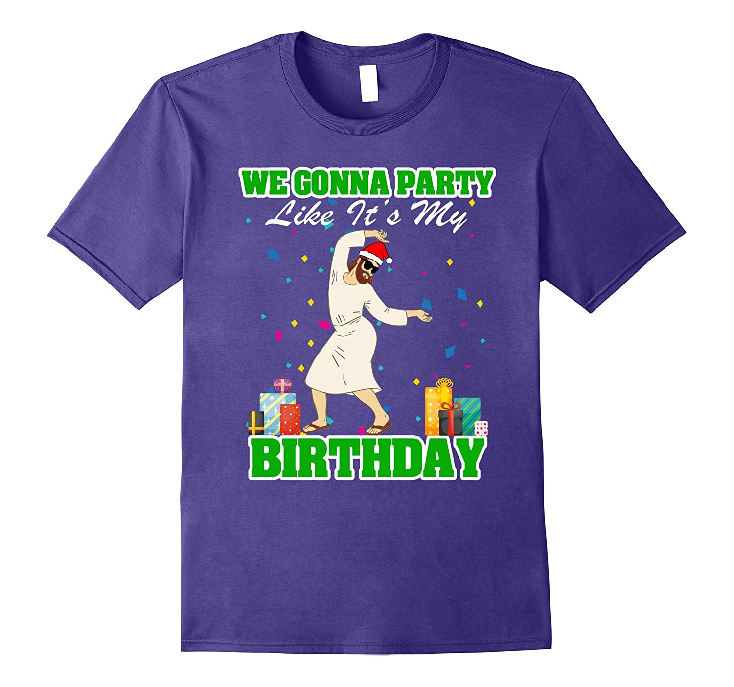Funny Christmas Shirt - JESUS Birthday Party t-shirt-ANZ
