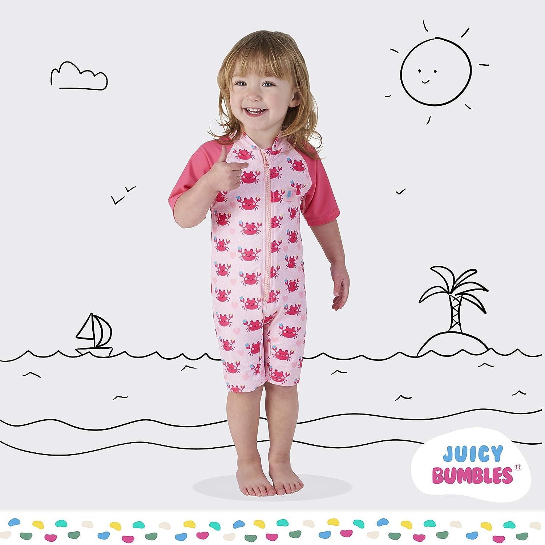 07f78ab304 Juicy Bumbles Bébé Combinaison Fille Garçon Enfant Anti Uv Et zGMUVqpS
