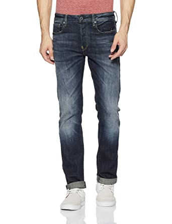 Amazon.com: G-Star Raw Men's Revend Straight-Fit Jean in Delm Stretch Denim:  Clothing