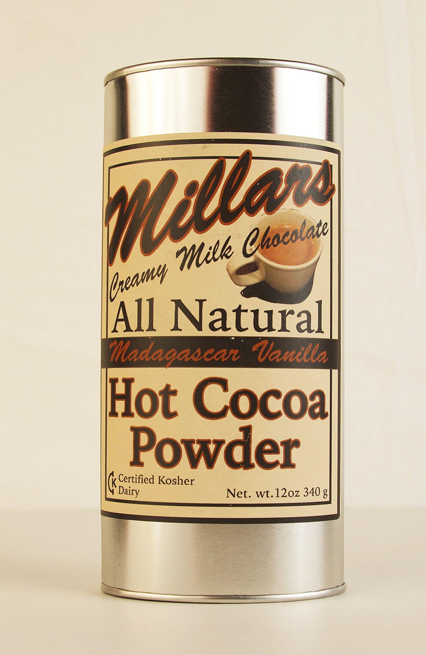 All Natural Hot Cocoa Powder Millars