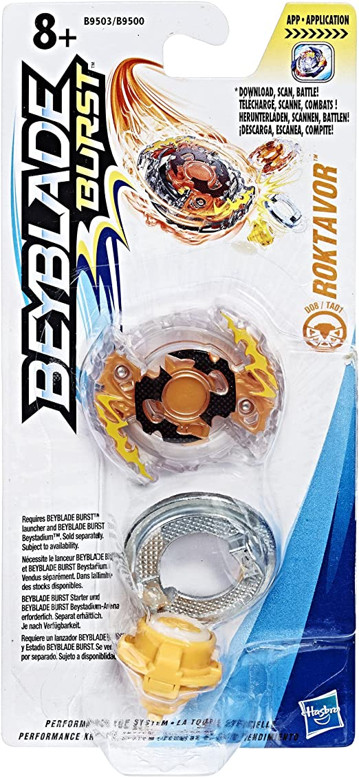 Hasbro- Roktavor Beyblade PEONZA, Multicolor (B9500EU4): Amazon.es ...