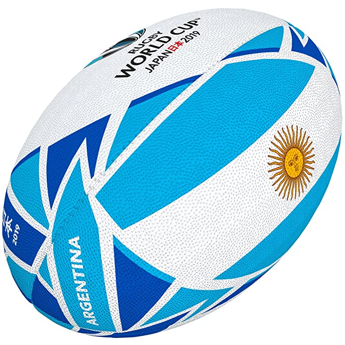 Gilbert Rugby World Cup Japan 2019 - Bola Bandera de Argentina ...