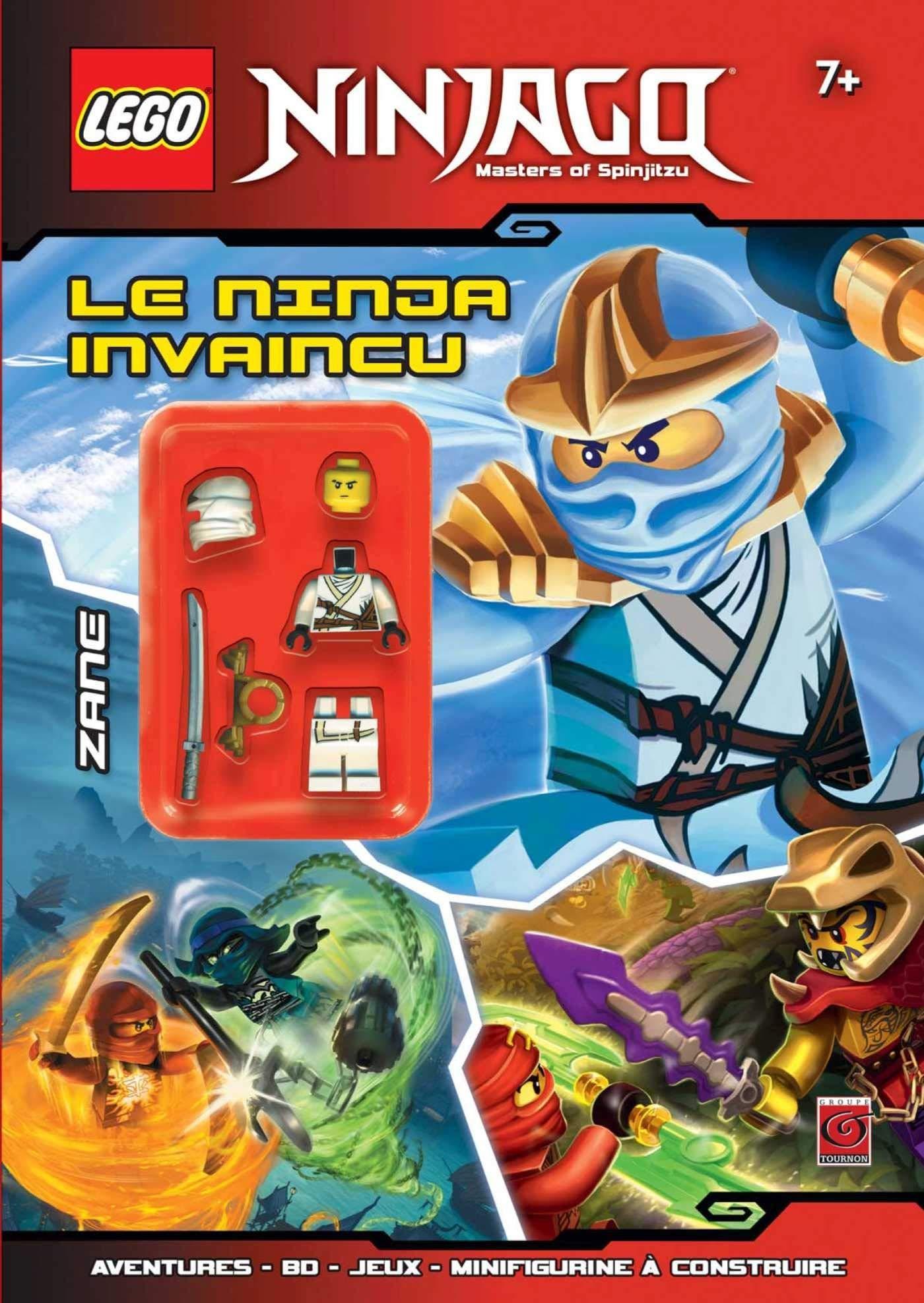 LEGO NINJAGO LE NINJA INVAINCU (TOURNON LEGO): Amazon.es ...