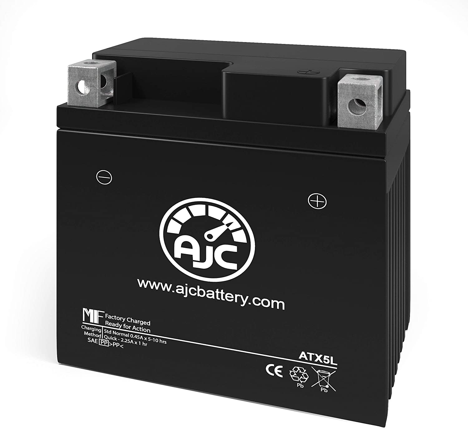 Yamaha XC50 Vino Classic 50CC Scooter and Moped Replacement Battery This is an AJC Brand Replacement 2006-2017