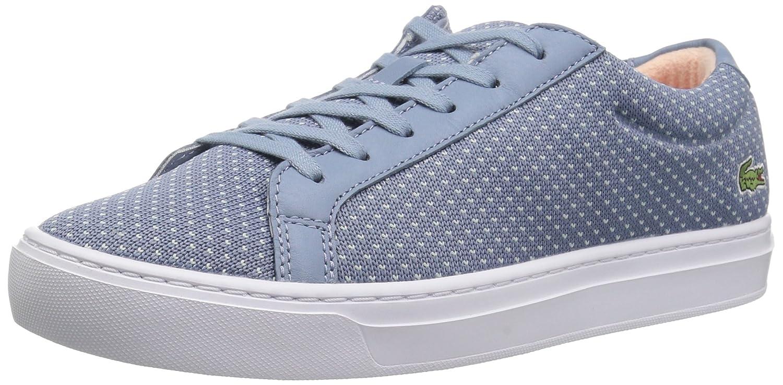 Lacoste Women's L.12.12 LIGHTWEIGHT1181CAW Sneaker B072R3NPFC 5.5 B(M) US|Light Blue/Light Blue