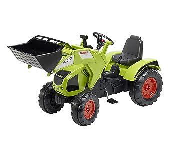 Falk - 1011d - Tractor Claas Axos 330 con Ruedas a Vendaje de oídos: Amazon.es: Juguetes y juegos