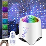 Night light Projector for Kids,Star Projector Night Light,Star Projector for Bedroom,Star Projector with Remote Control and M