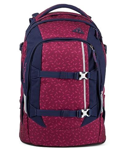 69d9d0e410fb8 Satch Pack Blazing Purple Schulrucksack Set 4tlg.  Amazon.de  Schuhe ...