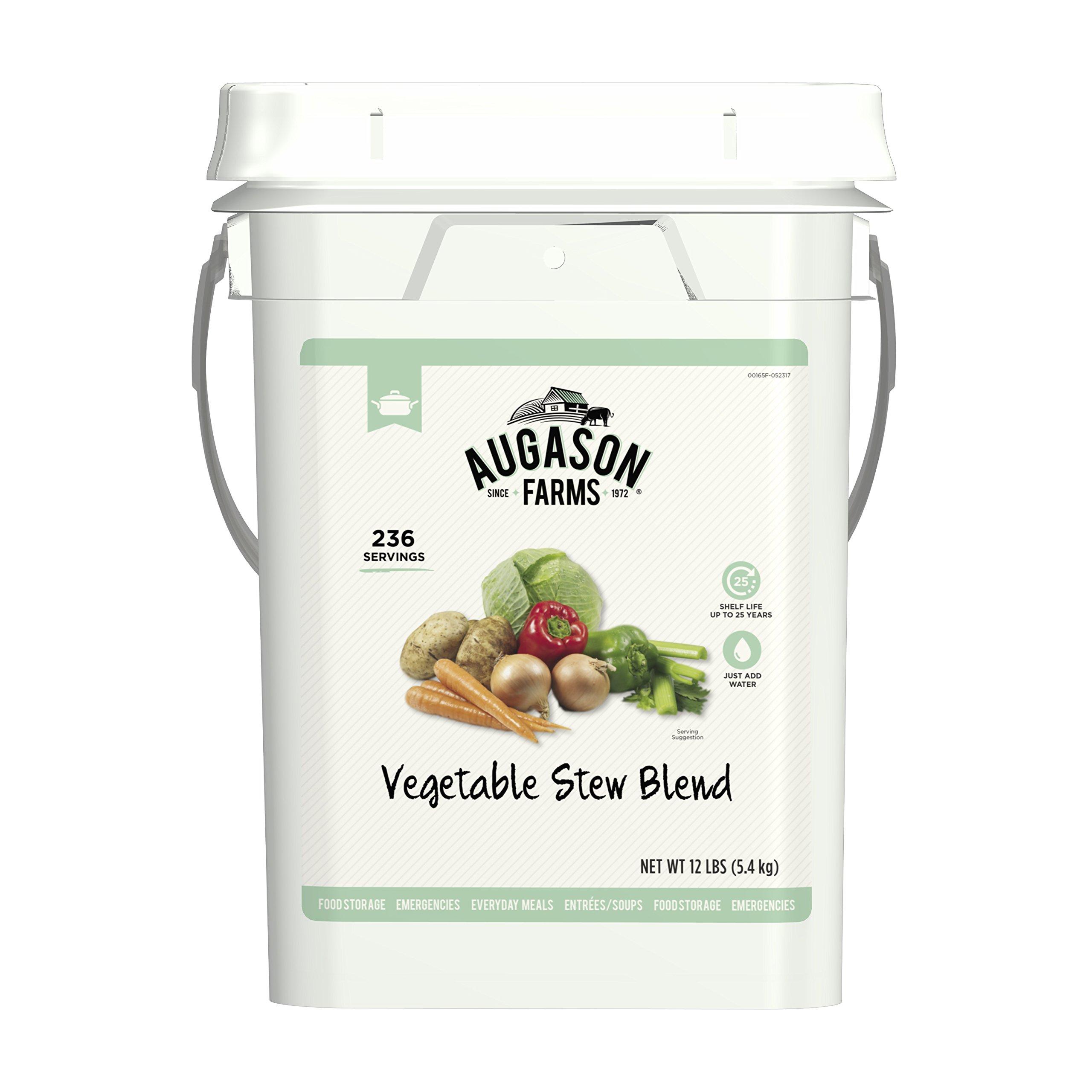 Augason Farms Vegetable Stew Blend Certified Gluten Free by Augason Farms