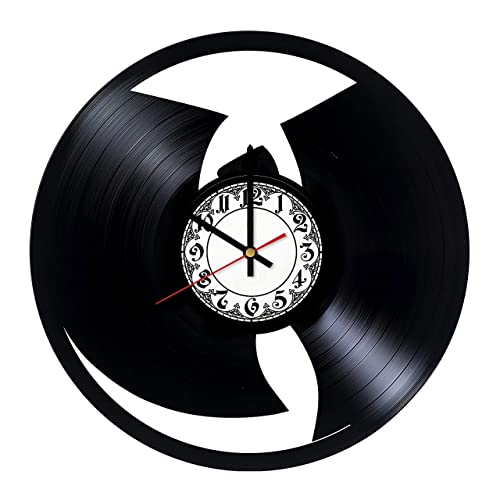 Get unique room wall decor How to Train Your Dragon Handmade Vinyl Record Wall Clock Modern Unique Home Art Design Gift ideas for his and her