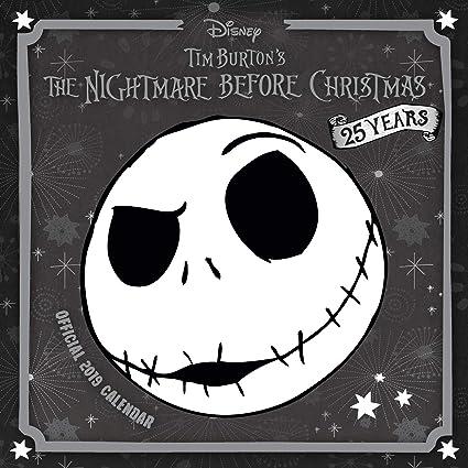 Nightmare Before Christmas Official 2019 Calendar
