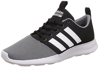 adidas neo Men's Cloudfoam Swift Racer Cblack and Ftwwht, Grey Sneakers - 6  UK/