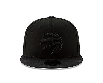hot sales 49a59 b5ddb Toronto Raptors NBA New Era 9Fifty Sueded Up Snapback Adjustable Hat Cap -  Black on Black, Baseball Caps - Amazon Canada