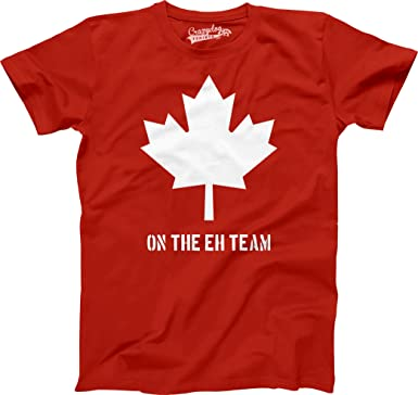 Youth Eh Team Canada T shirt Funny Canadian Shirts Kids Novelty T ...