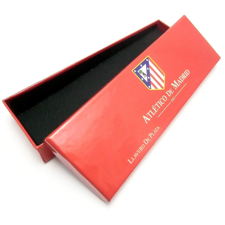 Llavero escudo Atlético de Madrid Plata de ley 20x31mm. [7050] - Modelo: 20-057