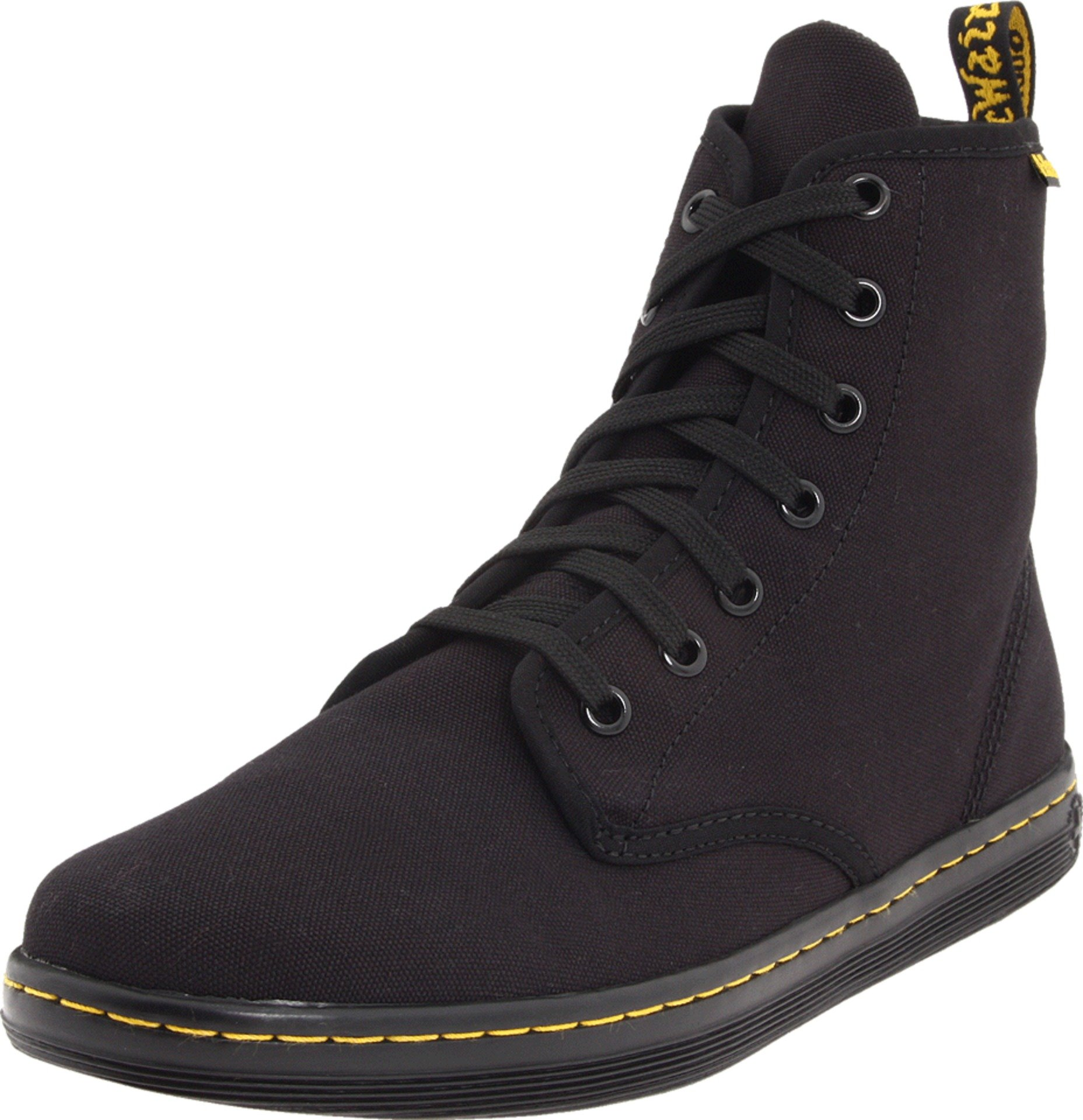 Dr. Martens Women's Shoreditch Boot,Black,5 UK (US Women's 7 M)