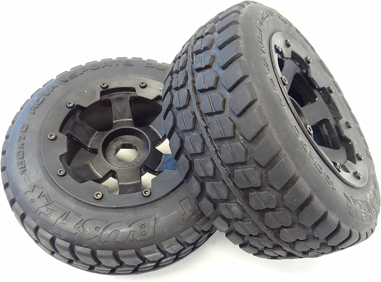 Amazon Com 1 5 Rovan Terminator Rear Truck Road Wheels Hpi Baja 5t 5sc King Motor Losi 5ive Toys Games