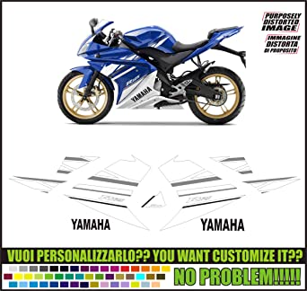 Kit Adesivi Decal Stikers Yamaha Yzf R125 2010ability To