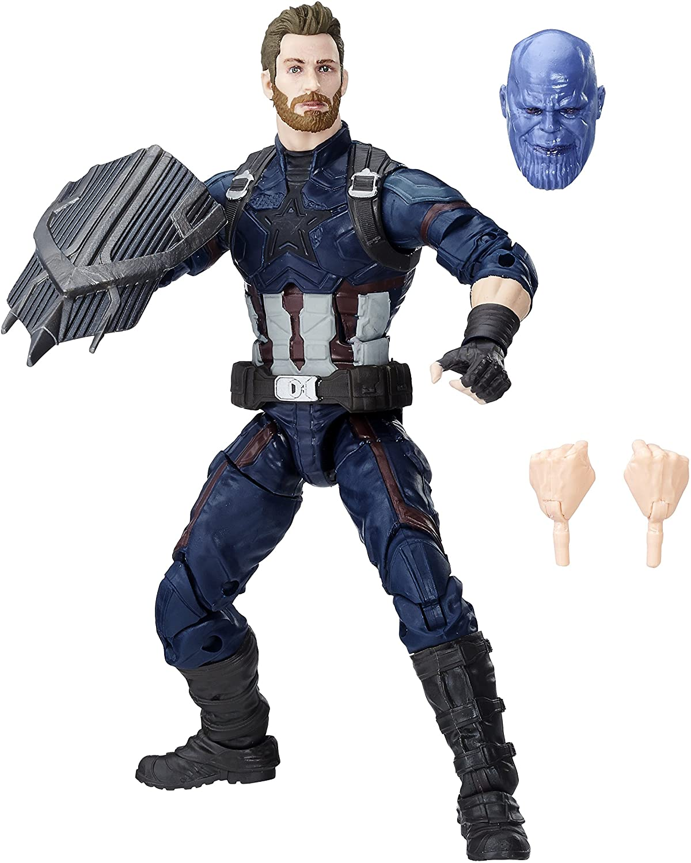 Neuf Scellé Marvel legends captain america Infinity guerre Thanos BAF