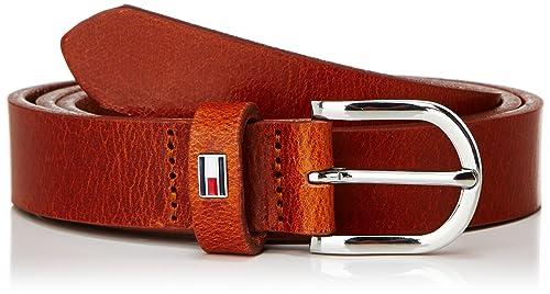 Tommy Hilfiger NEW DANNY BELT 2.5, Polo Mujer, Rosa (Cognac), 80 cm (Talla del fabricante: 80)