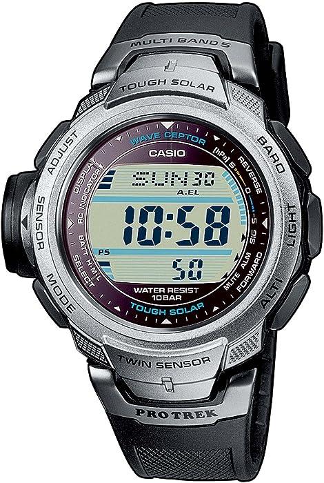 6dcccdaeabd2 CASIO Sport Pro Trek PRW-500-1VER - Reloj de Cuarzo con Correa de Resina  para Hombre (con multifunción