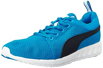 561e781ad925 Puma Men s Carson Runner Idp H2T Electric Blue Lemonade and Peacoat Running  Shoes