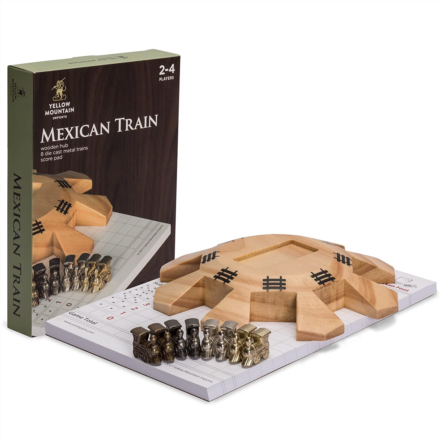 Amazon Yellow Mountain Imports Mexican Train Dominoes Chicken