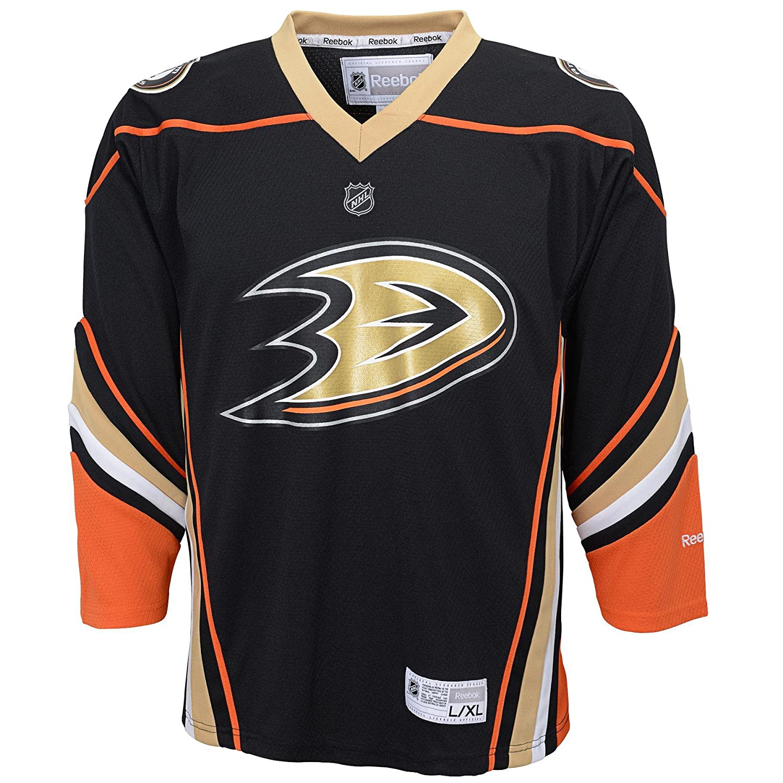 NHL Anaheim Ducks Team Color Replica Jersey Youth Reebok R 58HWB YYN