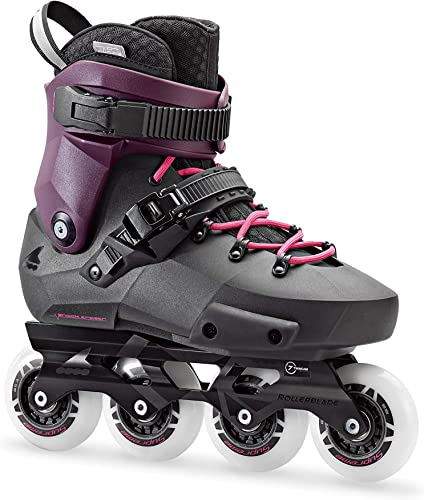 Rollerblade Twister Edge Women s Adult Fitness Inline Skate, Black and Purple, High Performance Inline Skates