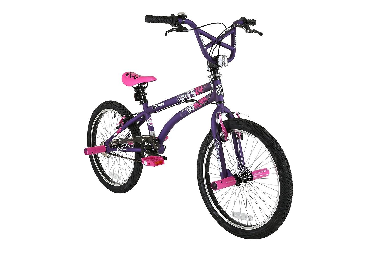 Kent Nightmare Skull 18 Wheel BMX Bike Boys Kids Bicycle Black//White Age 6+