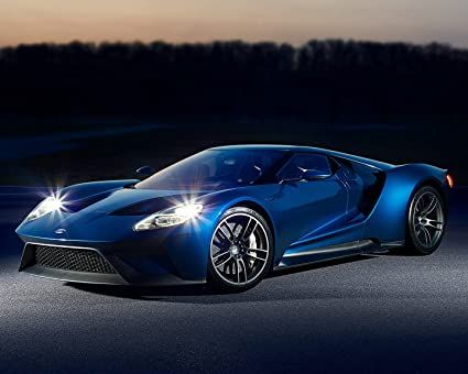 Ford Gt Poster Car Poster Wall Decoration High Quality X