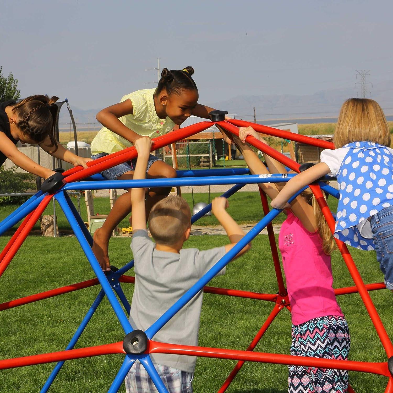 Lifetime Outdoor Kinder Kuppel-Klettergerüst Geodome rot/blau ...
